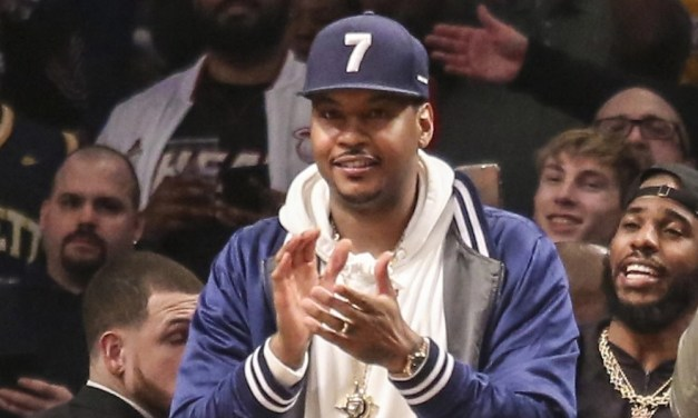 Carmelo Anthony Responds to Kyrie Irving and  KD Nets Rumors