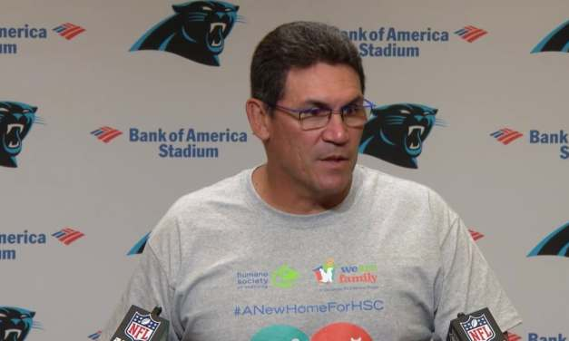 Salty Ron Rivera Walks Out of Press Conference After Too Many Questions About Cam Newton