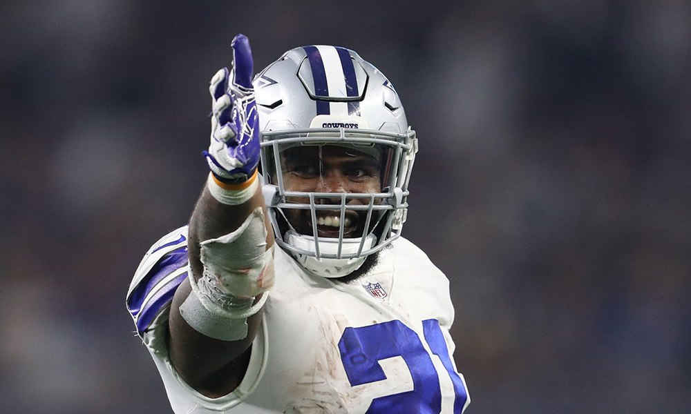 Contract Talks Between Ezekiel Elliott and the Cowboys are Reportedly Heating Up