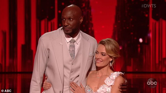 Lamar Odom Caught Grabbing His Junk on Live TV