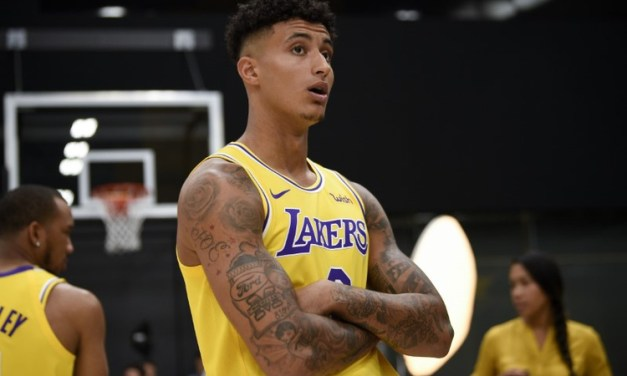 Kyle Kuzma Spotted with a New Lady in Hollywood