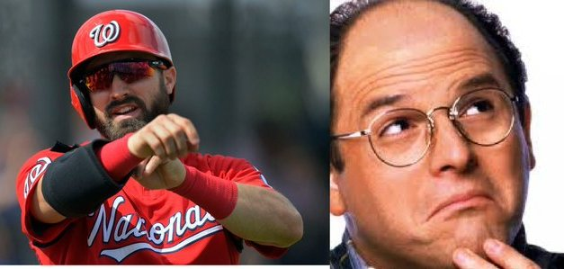 Washington Nationals OF Adam Eaton Channeled His Inner George Constanza