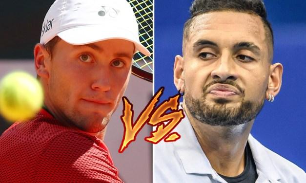 Tennis Bad Boy Nick Kyrgios Threatens Rival Tennis Player Who Called Him an 'Idiot'