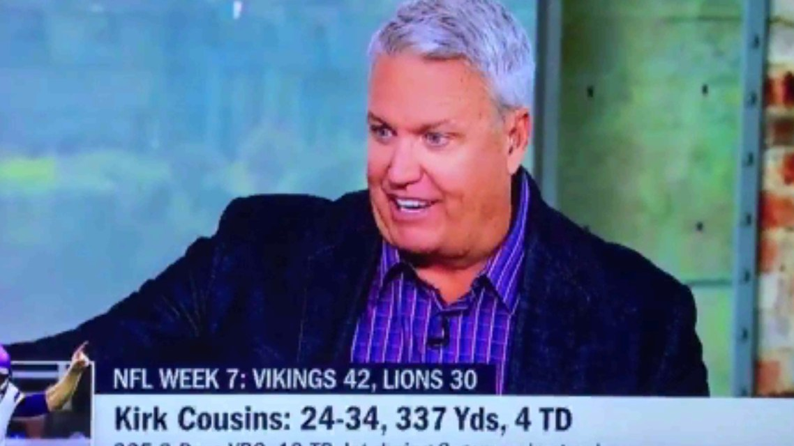"Rex Ryan Talks About Kirk Cousins Getting ""His Rocks Off"""