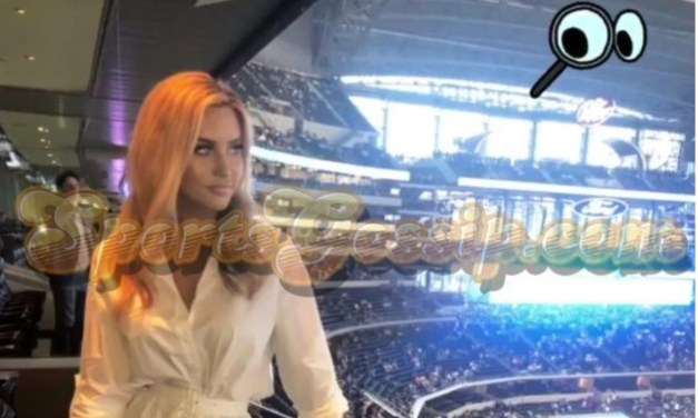 Lauren Holley Was Back in Dallas Cheering on Dak Prescott and the Cowboys