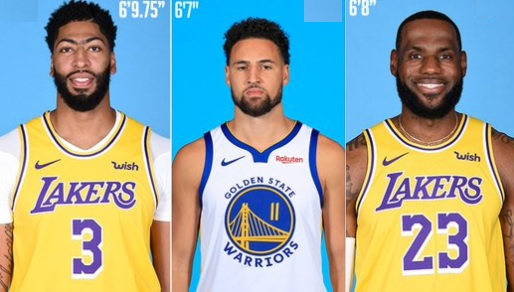 Dwight Howard, AD, LeBron, Kevin Durant and Klay Thompson All Have New Heights