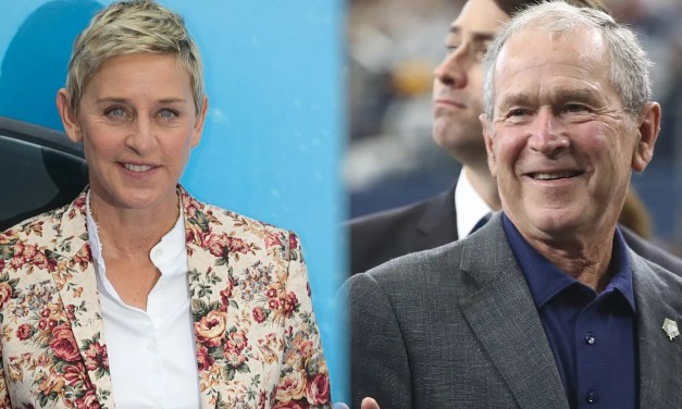 Ellen DeGeneres Fires Back at Haters Who Bashed Her for Sitting Next to George Bush at Cowboys Game