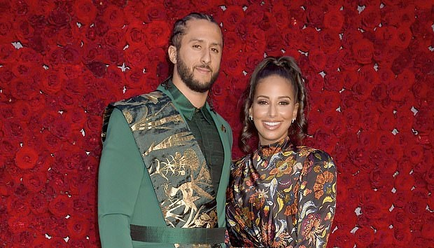 Colin Kaepernick and Girlfriend Nessa Attended The Tyler Perry Studios Grand Opening Gala
