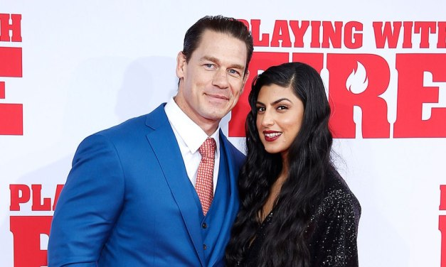 John Cena Makes Red Carpet Debut with New Girlfriend Shay Shariatzadeh