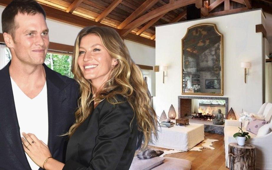 Tom Brady and Gisele Bündchen Slash Price of Their $34 Million Boston Mansion