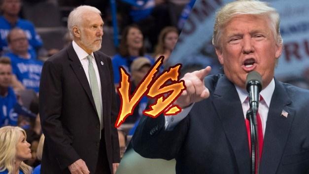Greg Popovich Returns Fires at Donald Trump
