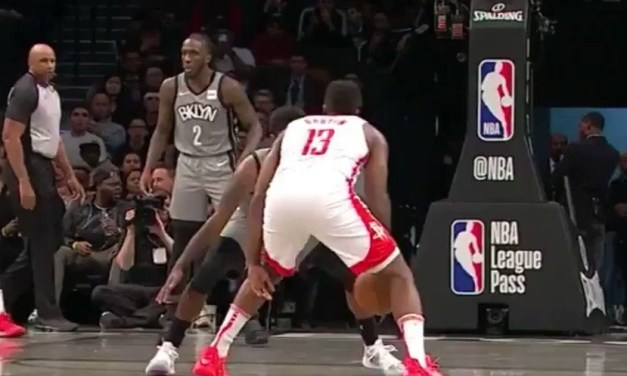 James Harden Crossed Over Kyrie Irving Before Dishing an Alley-Oop