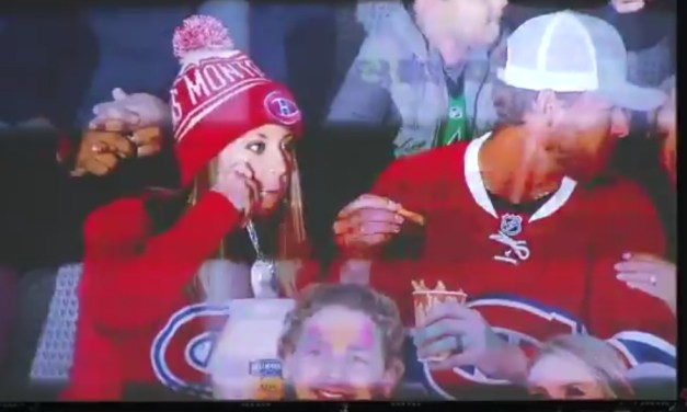 Mayonnaise Eating Montreal Canadiens Fans Exposed by the Dallas Stars