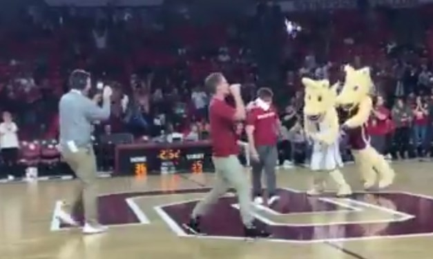Oklahoma Student Drilled a Half Court Shot for Free Tuition for a Year