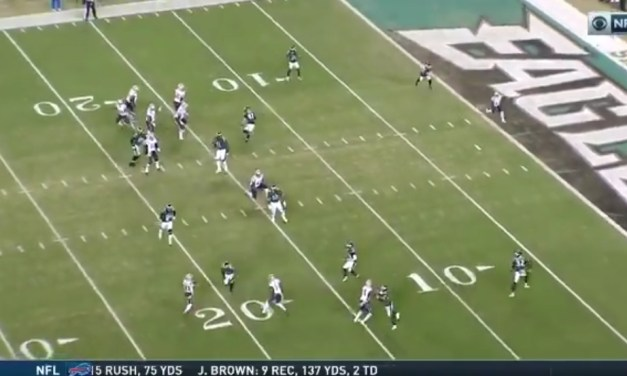 Julian Edelman Threw a Touchdown Pass to Give the Patriots the Lead