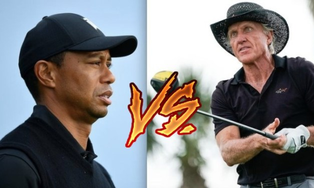 The Moment Tiger Woods Snubbed Greg Norman
