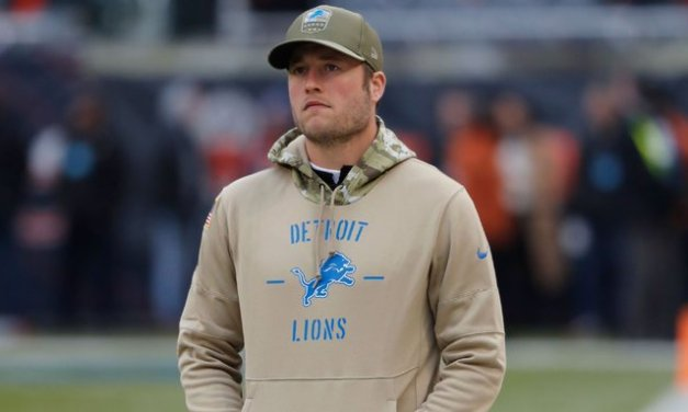 Matthew Stafford Could Miss 6 Weeks With Back Injury