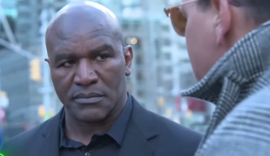 Ex-Heavyweight Champ Evander Holyfield Living in 2 Bedroom Apartment After Losing Millions