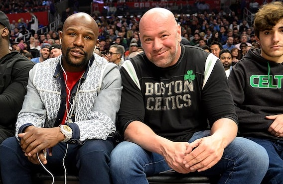 Floyd Mayweather 'Seeking Two fights Next Year, Including MMA Crossover'
