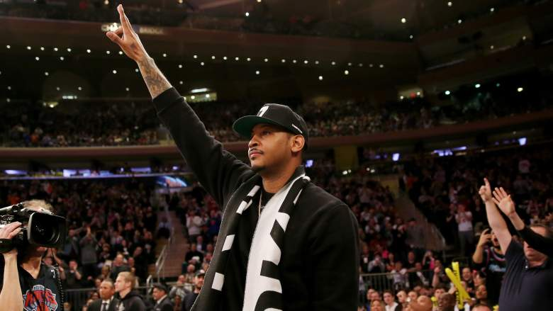 Anonymous Assistant Coach Throws Shade at Carmelo Anthony's Defense
