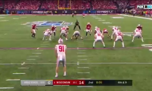Ohio State Pulls Off a Fake Punt Down by 14 Against Wisconsin