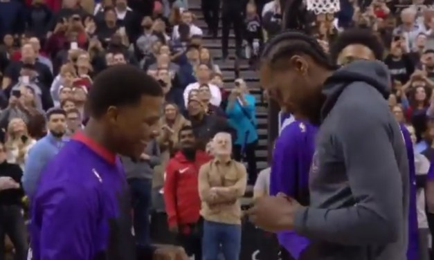 Raptors Fans Welcomed Kawhi Leonard Back With an MVP Chant