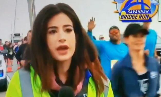 Georgia Reporter Alex Bozarjian Calls out 'Jerk' Runner Who Slapped Her Butt on Live TV During Race