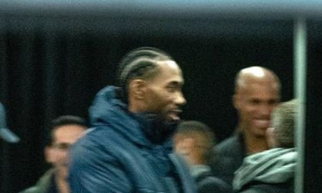 Kawhi Arrived In Unusual Style Back in Toronto to Play the Raptors
