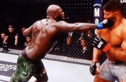 Alistair Overeem Suffered a Gruesome Lip Injury in Last Second Knockout at UFC on ESPN 7