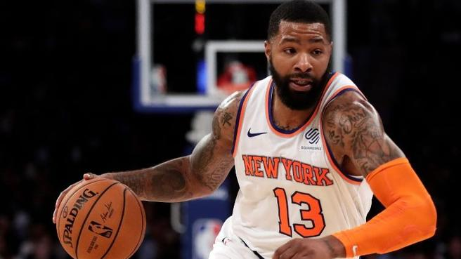 Marcus Morris Injured by His 1-Year-Old Son