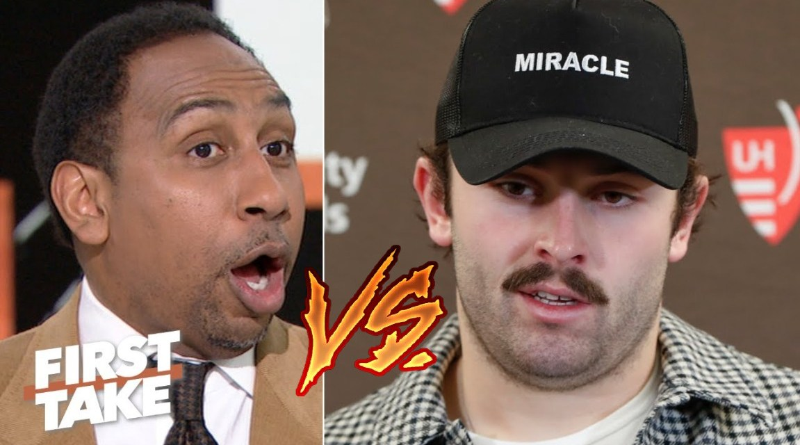 Stephen A. Smith Tears Baker Mayfield a New One