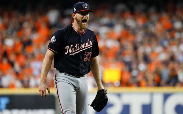 Stephen Strasburg Re-Signs With the World Series Champs for a Record Amount
