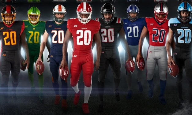 XFL Unveils Jerseys and Helmets For The Eight Inaugural Teams