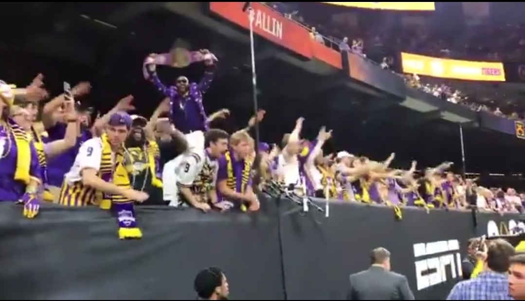 """LSU Students Add Their """"Neck"""" Lyrics to """"Rise Above It"""""""