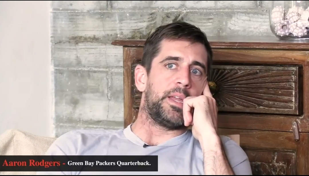 Packers QB Aaron Rodgers is Now an Atheist