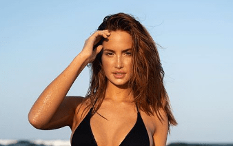 SI Swimsuit Model Haley Kalil Kicked Her 2020 Off by Sharing a Smoking Hot Bikini Pic