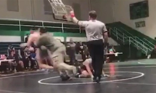 A High School Wrestler Was Attacked by His Opponent's Father