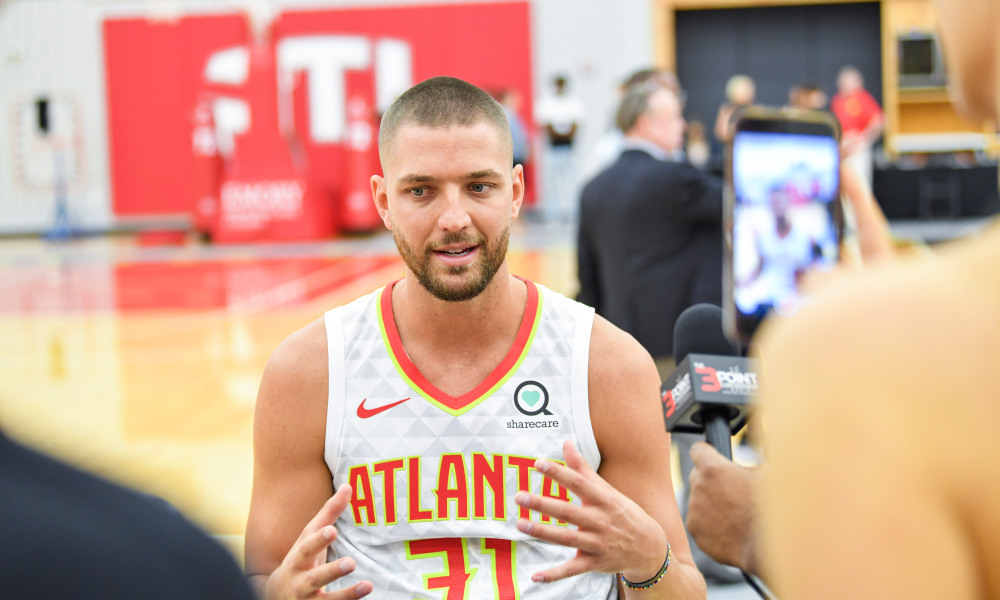 Chandler Parsons Suffered a Concussion and Whiplash in a Car Accident After Practice