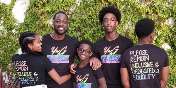 Dwyane Wade Says 12-Year-Old Daughter Zaya Knew Gender Identity When She Was 3 Years Old