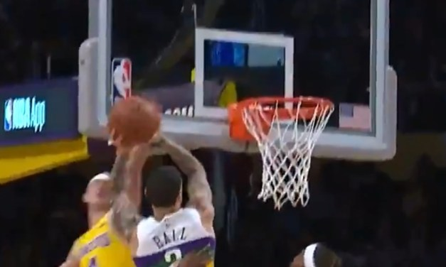Alex Caruso Might Have Ended Lonzo Ball's Career by Blocking His Dunk Attempt