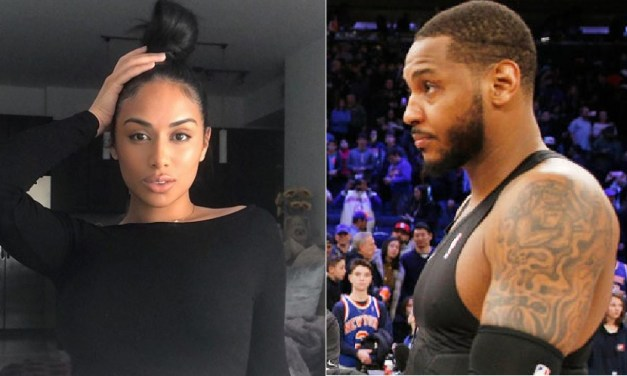 Carmelo Anthony's Baby Mama Getting Asked about Her Child After Drake Revealed His