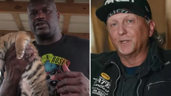 Shaquille O'Neal Allegedly Reached out to Jeff Lowe Following Netflix Series' Premiere of Tiger King