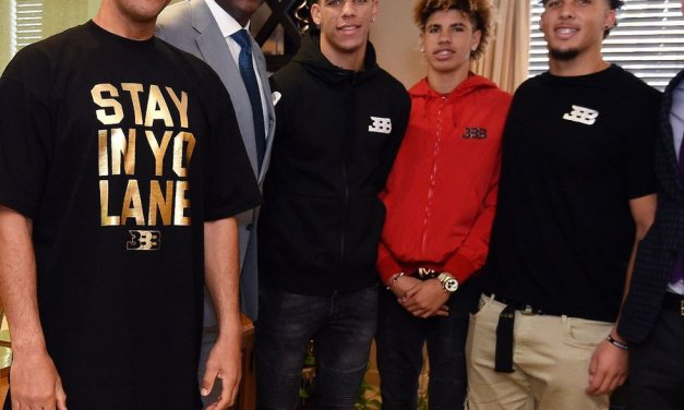 Lonzo Ball, LaMelo Ball and LiAngelo Ball To Sign With ROC Nation