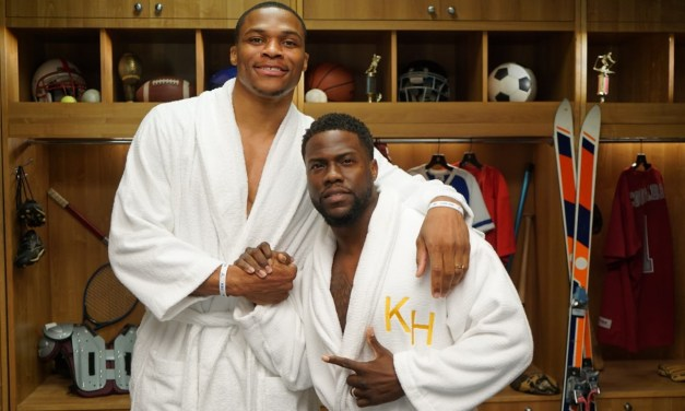 Russell Westbrook Staying Ready with Kevin Hart During Quarantine