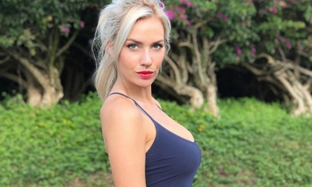 Golfer Paige Spiranac Responds To Death Threat With Clever T-Shirts
