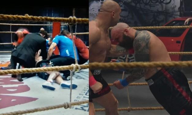 Bareknuckle Boxer Knocked Unconscious Against 'Polish Tyson'