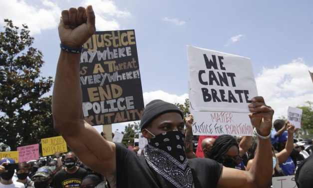 Russell Westbrook Spoke at Black Lives Matter Protest