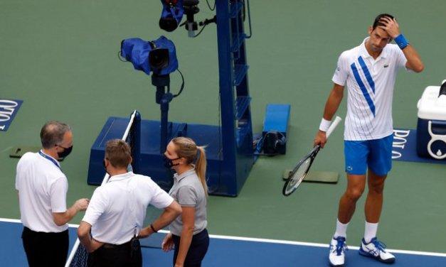 Novak Djokovic Apologizes for Hitting Line Judge: 'So Unintended'