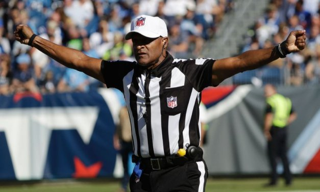First all-Black officiating crew to work MNF game