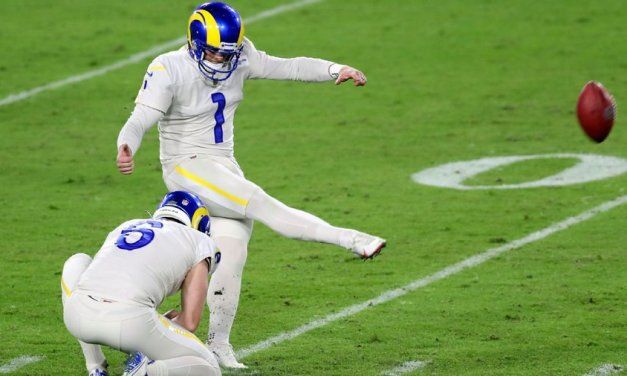 Ex-Bucs kicker Gay lifts Rams: 'You can't write it'